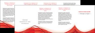 cree depliant 4 volets  8 pages  web design texture contexture structure MLGI75507