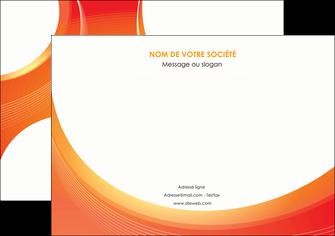 modele en ligne affiche web design orange fond orange colore MLIGBE75621