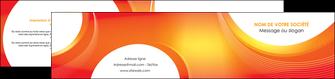 modele en ligne depliant 2 volets  4 pages  web design orange fond orange colore MIF75637