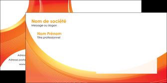 creer modele en ligne enveloppe web design orange fond orange colore MIF75639