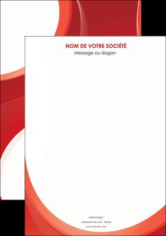 realiser affiche web design rouge couleur colore MIF75655