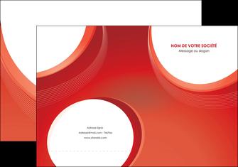 modele en ligne pochette a rabat web design rouge couleur colore MIF75667
