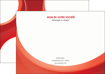 modele en ligne affiche web design rouge couleur colore MIF75671