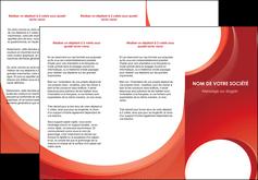 Commander Dépliant Web Design depliant Dépliant 6 pages pli accordéon DL - Portrait (10x21cm lorsque fermé)