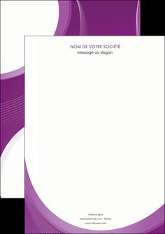 modele en ligne affiche web design violet fond violet courbes MLIG75709