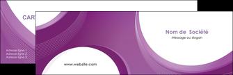 personnaliser maquette carte de visite web design violet fond violet courbes MLIG75713