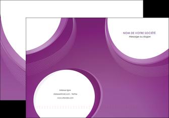 personnaliser modele de pochette a rabat web design violet fond violet courbes MLIG75717
