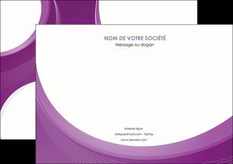 exemple affiche web design violet fond violet courbes MLIG75723