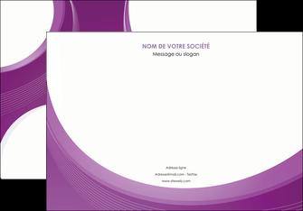 creer modele en ligne affiche web design violet fond violet courbes MLIG75727