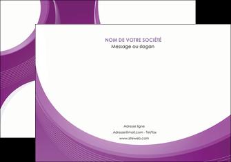 exemple affiche web design violet fond violet courbes MLIG75729