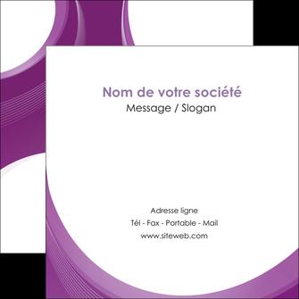 imprimer flyers web design violet fond violet courbes MLIG75739