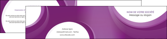 personnaliser maquette depliant 2 volets  4 pages  web design violet fond violet courbes MLIG75741