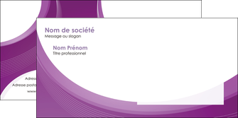 realiser enveloppe web design violet fond violet courbes MLIG75743