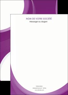 imprimerie affiche web design violet fond violet courbes MLIG75749