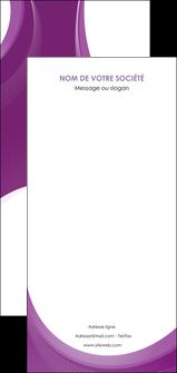 modele en ligne flyers web design violet fond violet courbes MLIG75755
