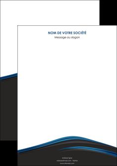 exemple affiche web design fond noir bleu abstrait MLGI75977