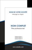 faire carte de visite web design fond noir bleu abstrait MLGI75985