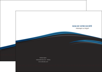 creer modele en ligne pochette a rabat web design fond noir bleu abstrait MLGI75987