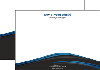 impression affiche web design fond noir bleu abstrait MLGI75993