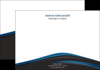 modele en ligne affiche web design fond noir bleu abstrait MLGI75999