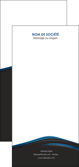 realiser flyers web design fond noir bleu abstrait MLGI76025