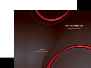faire pochette a rabat web design rouge gris contexture MLGI76705