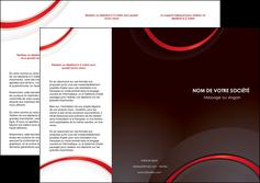 personnaliser maquette depliant 3 volets  6 pages  web design rouge gris contexture MLGI76717