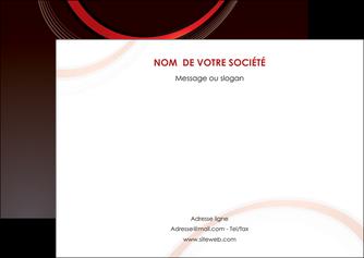 impression flyers web design rouge gris contexture MLGI76719