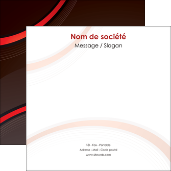 realiser flyers web design rouge gris contexture MLGI76723