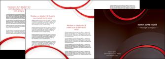 modele en ligne depliant 4 volets  8 pages  web design rouge gris contexture MLGI76735