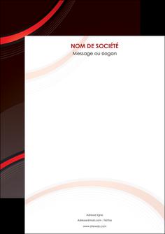 maquette en ligne a personnaliser flyers web design rouge gris contexture MLGI76737