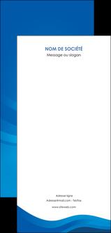 creation graphique en ligne flyers web design bleu fond bleu bleu pastel MIF77021