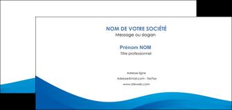 modele en ligne carte de correspondance web design bleu fond bleu bleu pastel MIF77025