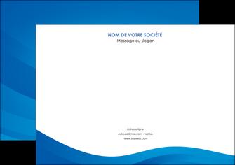 Commander Documents Web Design modèle graphique pour devis d'imprimeur Flyer A4 - Paysage (29,7x21cm)