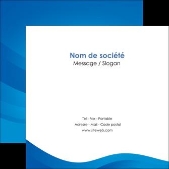 personnaliser modele de flyers web design bleu fond bleu bleu pastel MIF77031