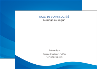 creation graphique en ligne flyers web design bleu fond bleu bleu pastel MIF77035
