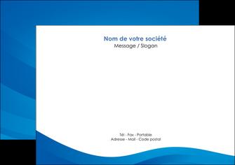 faire flyers web design bleu fond bleu bleu pastel MIF77039
