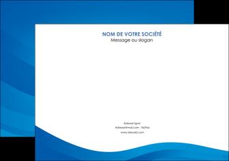 modele affiche web design bleu fond bleu bleu pastel MIF77041