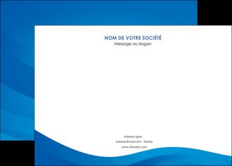 realiser affiche web design bleu fond bleu bleu pastel MIF77043