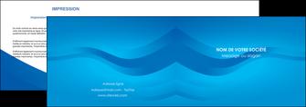 maquette en ligne a personnaliser depliant 2 volets  4 pages  web design bleu fond bleu bleu pastel MIF77045