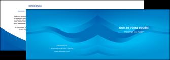 maquette en ligne a personnaliser depliant 2 volets  4 pages  web design bleu fond bleu bleu pastel MIF77047