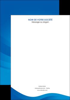 imprimerie flyers web design bleu fond bleu bleu pastel MIF77061