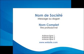 modele en ligne carte de visite web design bleu fond bleu bleu pastel MIF77063