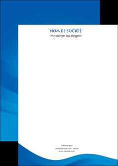 personnaliser maquette affiche web design bleu fond bleu bleu pastel MIF77067