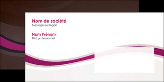 realiser enveloppe web design violet fond violet marron MIF77097