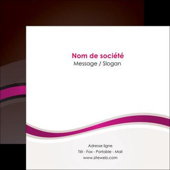 modele en ligne flyers web design violet fond violet marron MIF77101