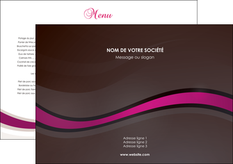 maquette en ligne a personnaliser set de table web design violet fond violet marron MIF77111
