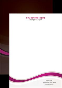 realiser affiche web design violet fond violet marron MIF77115
