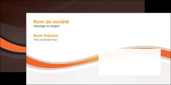 maquette en ligne a personnaliser enveloppe web design orange gris texture MIF77201
