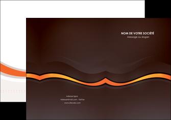 cree pochette a rabat web design orange gris texture MLIG77227